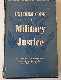 Army uniform code of military justice