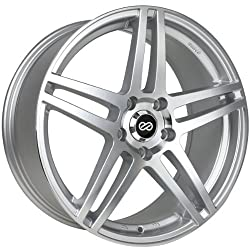 18×8 Enkei RSF5 (Silver Machined) Wheels/Rims 5×114.3 (479-880-6540SM)