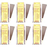 Auroma Agarbathies Auroville Wood Incense Stick (240 G,20 Cm, Pack Of 6) - B01HMX7V1I
