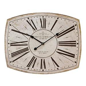 Very Large Metal Wall Clock Tv Shape 50cm X 40cm Swinton