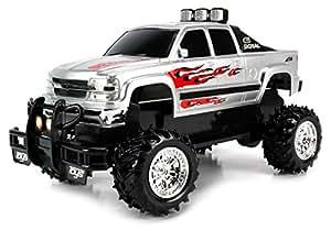 Amazon.com: Chevy Silverado 4X4 Remote Control Monster RC Truck Off