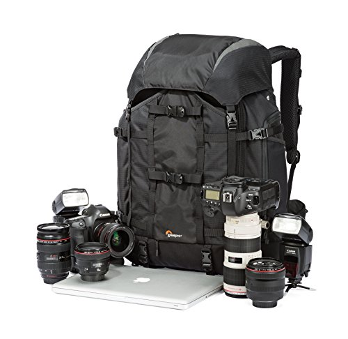 Pro Trekker 450 AW Camera Backpack From Lowepro - Large Capacity Backpacking Bag For All Your Gear (Lowepro Protactic 450 Aw compare prices)