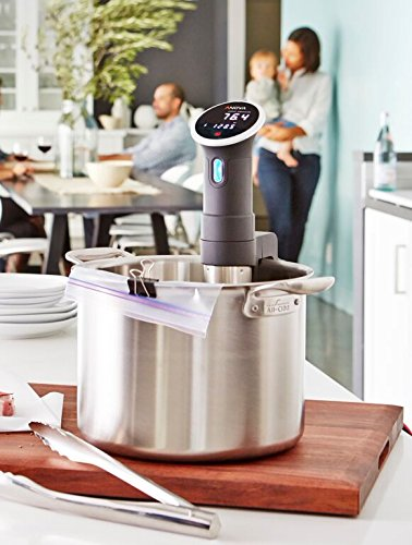 Anova Culinary Bluetooth Sous Vide Precision Cooker, 800 Watts, Black
