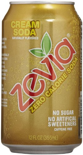 Zevia Zero Calorie Soda - Cream - 12 oz - 6 pk (Zevia Cream Soda compare prices)