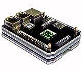 waves Raspberry Pi 3 Model B 用 ケース ヒートシンク 3点付 Pi2 共用 国内発送 黒