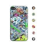 id America Cushi Original Coque en mousse pour iPhone 4 Suburb Import Royaume Uni