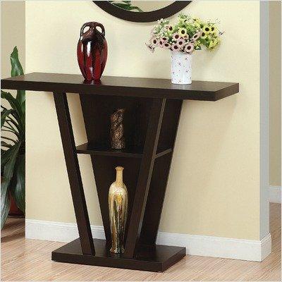 Hokku Designs Newbury Console / Sofa Table in Red Cocoa EL-29309