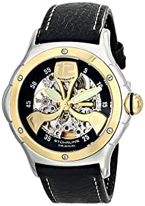 "Stuhrling Original Men's 4AT.332530 ""Champion Alpine"" 18k  Gold and Steel Automatic Watch"