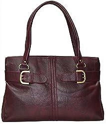 Utsukushii Women's Handbag (Maroon) (BG533K)