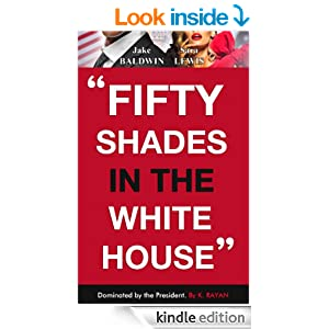 Fifty shades in the white house book cover