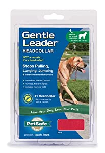 PetSafe Gentle Leader Headcollar, Large, Red