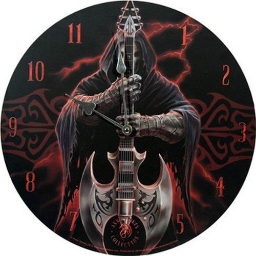 """MC - Orologio da parete """"Rock God by Anne Stokes"""", 33 cm"""