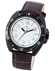 Giani Bernard Carbon Swing I Analog White Dial Men Watch  GB110A