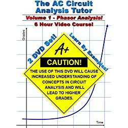 AC Circuit Analysis Tutor -- Volume 1 -- 6 Hour Course!