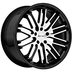 Sothis SC3 22×9.0 Gloss Black & Machined Wheel 5x120mm Bolt Pattern / +20mm Offset / 74.1mm Hub Bore