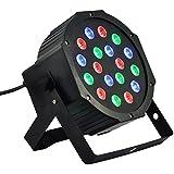 EU-Stecker RGB PAR18 LED DJ Stage Licht Disco Party Beleuchtung Projektor Show Hochzeit Party DJ Bar Bühnenscheinwerfer Bühnenlicht