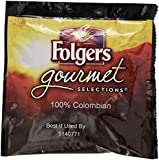 Folgers FOL63100 Gourmet Selection Colombian Coffee Pods (Pack of 18) - Net WT 6.3oz