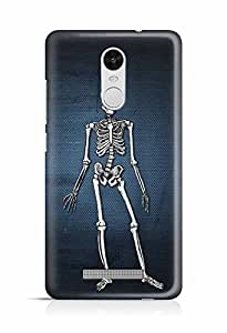YuBingo Skeleton Designer Mobile Case Back Cover for Xiaomi Redmi Note 3