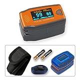 """PULOX Kinder Fingerpulsoximeter MD300C5 mit OLED-Anzeige *Farbe: orangevon """"PULOX"""""""
