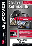 DigiCOVER LCD Screen Protection Film for Panasonic Lumix DMC-FZ 100