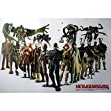 J-1617 Metal Gear Solid 4 Snake Ps3 Game Wall Decoration Art Prints Poster Size 35'x23.5'