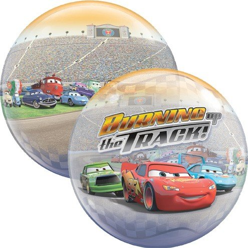 22 Inch Disney Cars 3D Bubble Balloons - 1