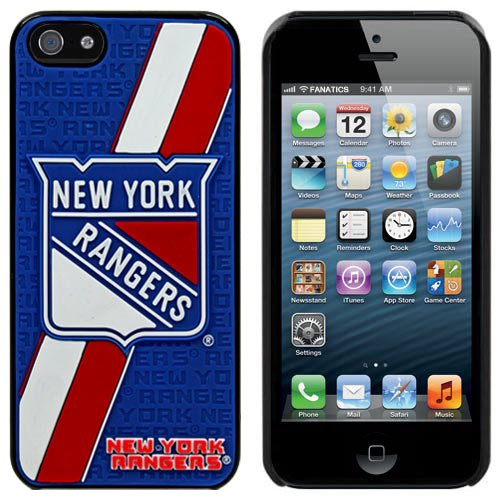 Great Price NHL New York Rangers 3D Team Logo iPhone 5 Case