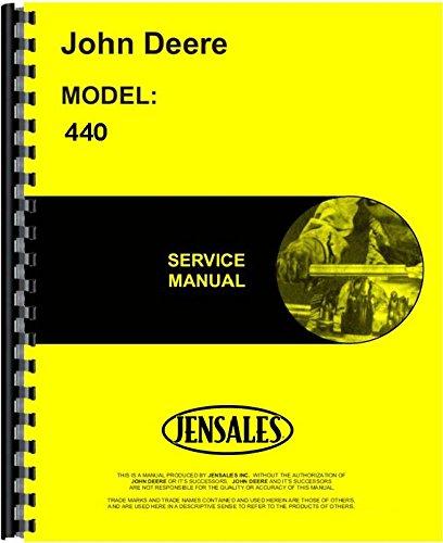 John Deere 440 Skidder Service Manual JD-S-TM1009