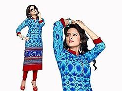 RR Fashion Women's Cotton KURTI (RRF3009_MULTICOLOUR)