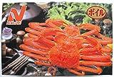 ズワイガニ(爪入り) 食べやすい殻カット済 1KG(冷凍)
