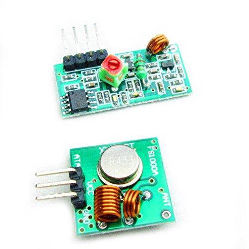 433M Super Regenerative Transceiver Module High Frequency Receiver Module Transmitter + Receiver