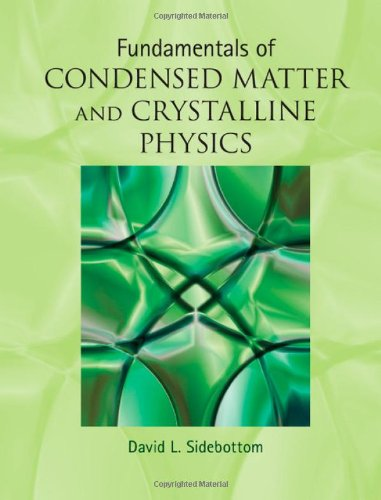 Fundamentals of Condensed Matter and Crystalline Physics Hardback