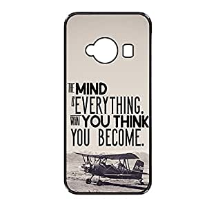 Vibhar printed case back cover for Xiaomi Redmi 2 YouBecome