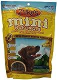Zukes Mini Naturals Dog Treats, Fresh Peanut Butter Formula, 16-Ounce