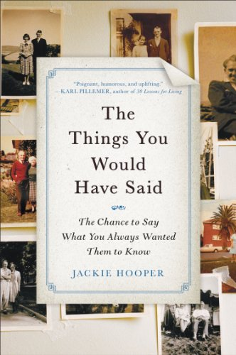 Jackie Hooper - The Things You Would Have Said