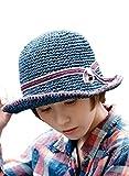 ネイビー (オリエントハット)Orient Hat 大人 エレガント 紫外線対策 小顔効果 ハンドステッチ コマ編み ペーパー ベルハット レディース オールシーズン フリーサイズ 日よけ UVカット ペーパー つば広 キャペリンハット 中折れハット 麦わら帽子 折りたたみ コンパクト クロッシェハット キャペリン カプリーヌハット ペーパー ペーパーブレード 巻きつば ハット 女優帽 中折れ つば広ハット 麦わら帽子 中折帽子 自転車 アウトドア 帽子 ペーパーブレード サファリハット パナマハット スカラハット チューリップハット ハット 麦わら帽子 中折帽子 ストローハット ペーパーハット ポークパイハット 無地 カンカン帽 フリーサイズ 夏の帽子 ボーラーハット レディース帽子 帽子レディース リボン テンガロンハット 綿 10代 20代 30代 40代 50代 春 夏 秋 冬 AOR013S-f-NV