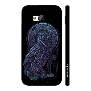 Enthopia Designer Hardshell Case Holy Owl Back Cover for HTC One M7