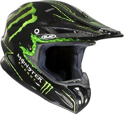 HJC helmets r-pHA x nat adams casque monster mC - 5 m noir taille 57/58)