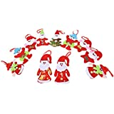 Generic Santa Claus Snow Man Reindeer Doll Christmas Decoration Xmas Tree Hanging Ornaments Pendant Best Gift...