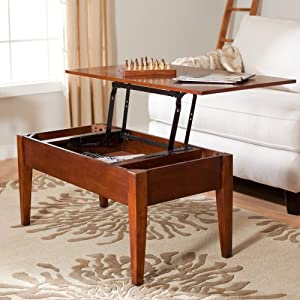 Amazon Com Turner Lift Top Coffee Table Convertible