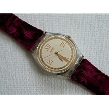 Swatch Vintage 1995 Saint Velours Ladies Watch #GK203