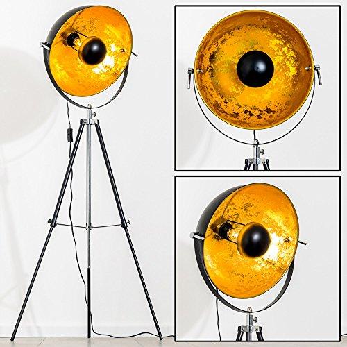 stehlampe-saturn-xl-farbe-gold-und-schwarz-hohenverstellbar-durchmesser-40-cm