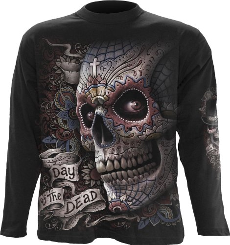 Spiral - Mens - El Muerto - Longsleeve T-Shirt Black - Xxl