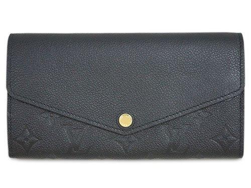 (ルイヴィトン) LOUIS VUITTON M61182 財布 ファスナー長札 モノグラム・アンプラント ポルトフォイユ・サラ ノワール [並行輸入品]
