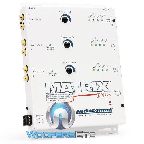 Audio Control 6-Channel Line Driver, White