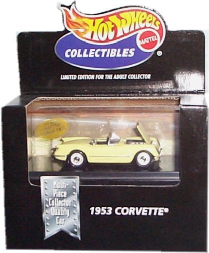 Hot Wheels Collectibles 1953 Corvette Limited Edition for the Adult Collector 1:64 Scale Die-Cast Collectible - 1