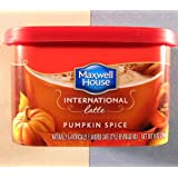 Maxwell House International Coffee Pumpkin Spice Latte 9 oz - THREE CANS