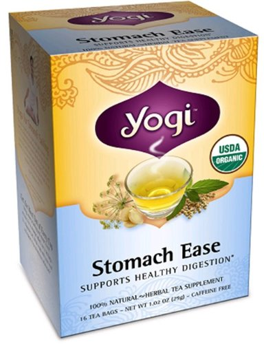 Yogi Tea - Stomach Ease, 1571 Mg, 16 Bag