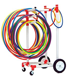 Buy Champion Sports Heavy-Duty Plastic Hoop Cart by Champion Sports