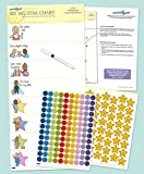 Kids Reward Chart - My Big Star Reward Chart (1yr+) Manage Difficult Toddler Behaviors with Positive Reinforcement